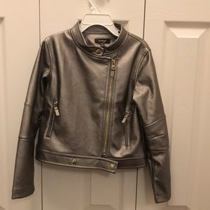 Girls Silver Jacket